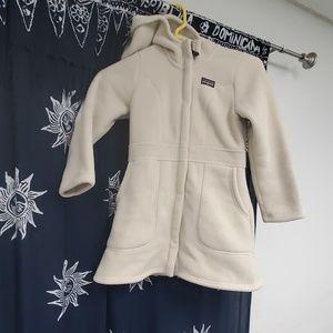 Girls Patagonia Fleece Coat